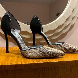 NEW Sam Edelman Delliah Marbled Snake Heel 6.5